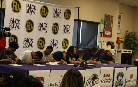 Student Athletes Sign Letters of Intent