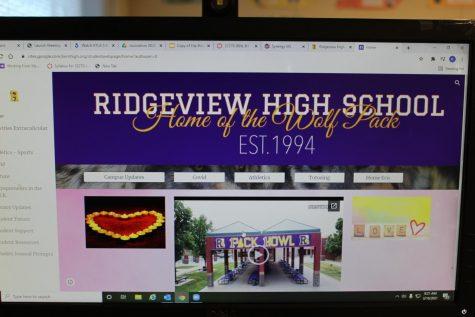 A screen shot of the ITA programs Senior Web page.