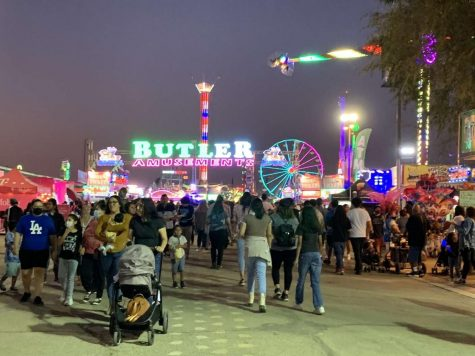 One of the entrances to this years Kern County Fair 2021.